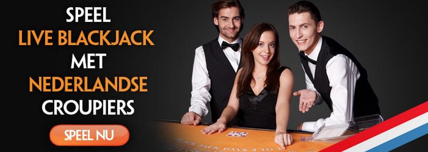 Online black jack spelen Kroon