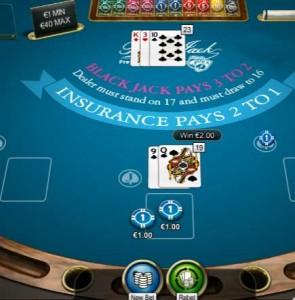 Blackjack gratis uitproberen