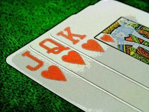 Double Attack Blackjack kaarten