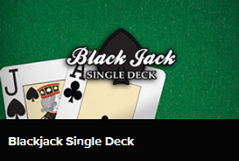 Blackjack Single Deck spelen