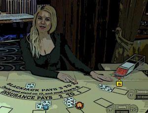 Blackjack spelen met pokerkennis
