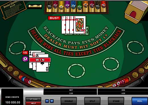 Microgaming Free BlackJack