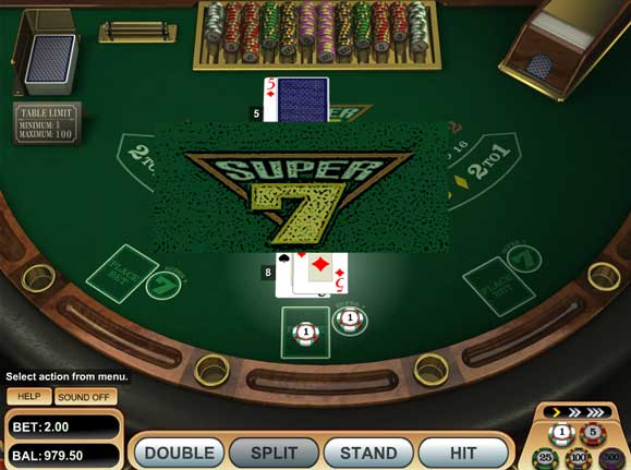 Blackjack Super 7
