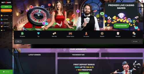 blackjackonline.nl casino review screenshot Betamo