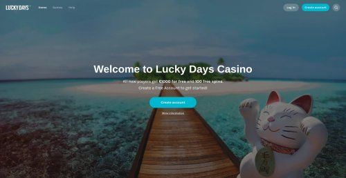 blackjackonline.nl casino review screenshots Lucky Days